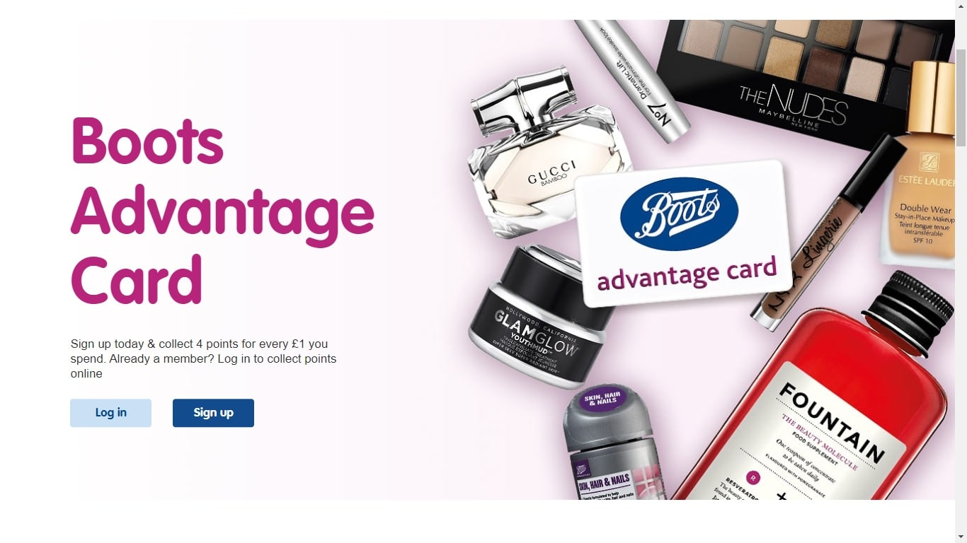 boots nus card
