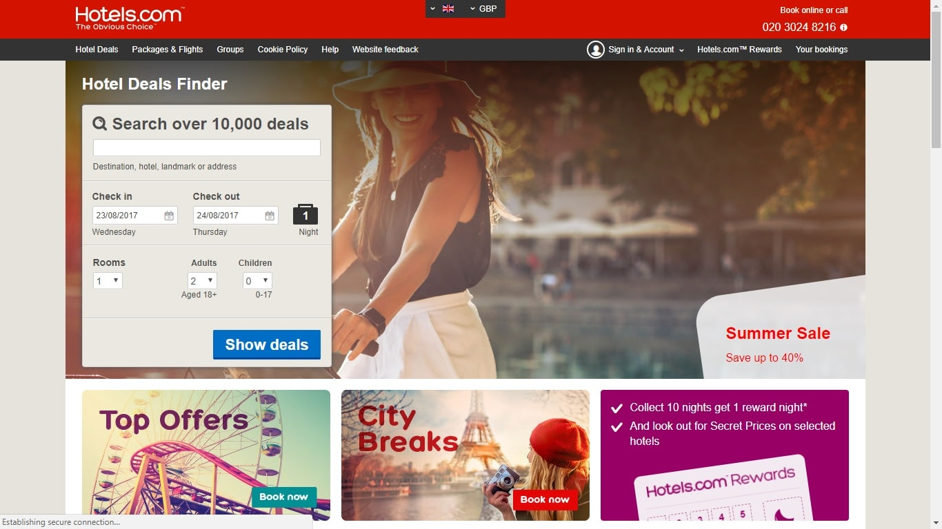 hotels.com nus discount guide