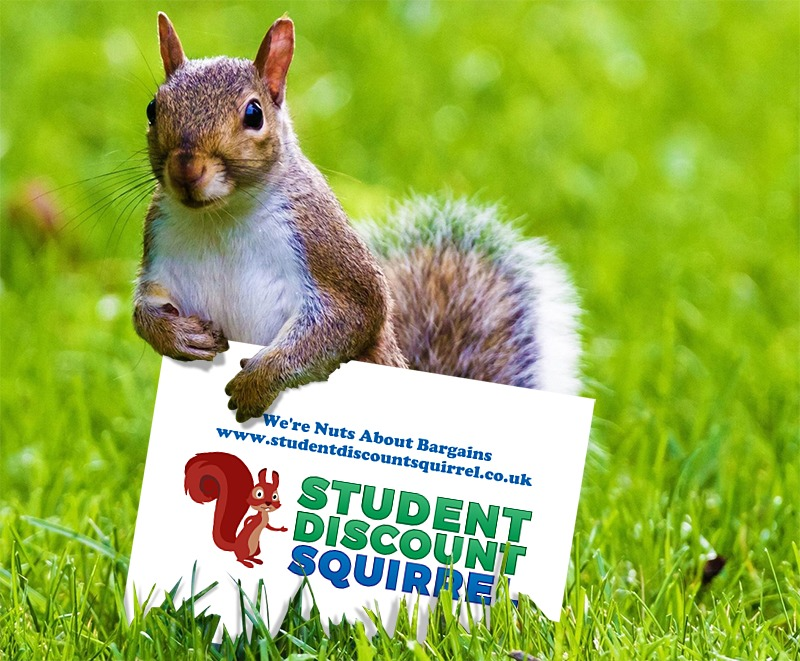 student discount squirrel image