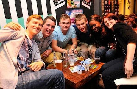university student friends