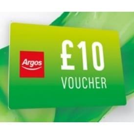 argos student discount voucher ten pounds