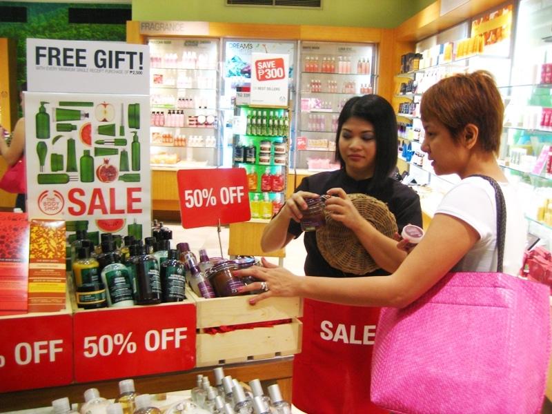 body shop student sales
