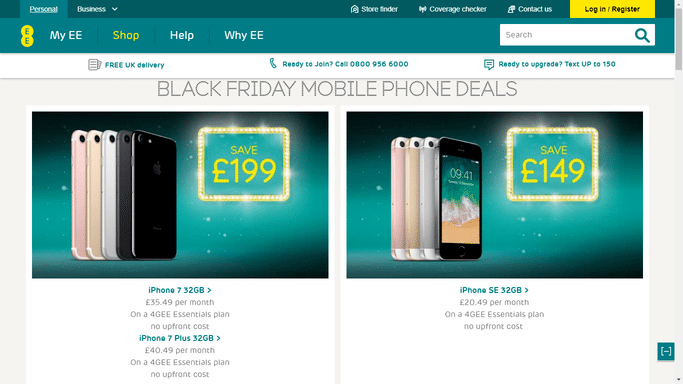 ee student discount guide