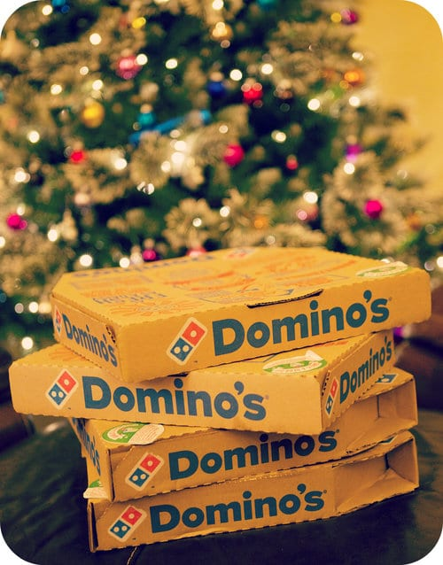 dominos student discount christmas