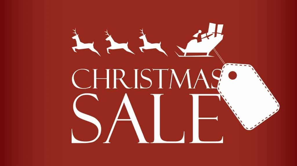 Christmas Sales & Student Discounts