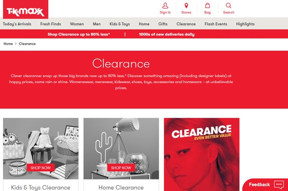 tk maxx student discount clearance