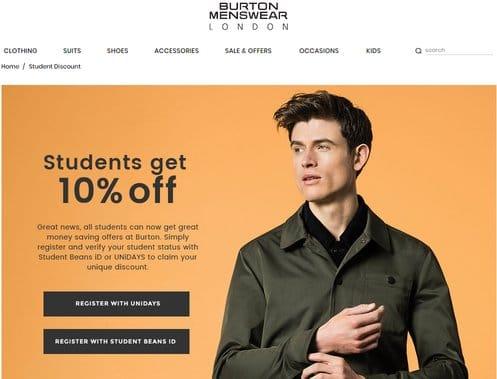 burton student discount