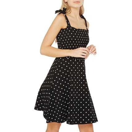 dorothy perkins spotted summer dress