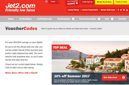 jet2 student discount