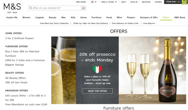 marks and spencer student discount