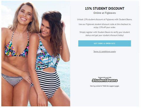 figleaves student discount