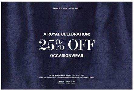 handm occaisionwear sale