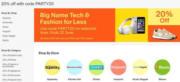 ebay student discount code