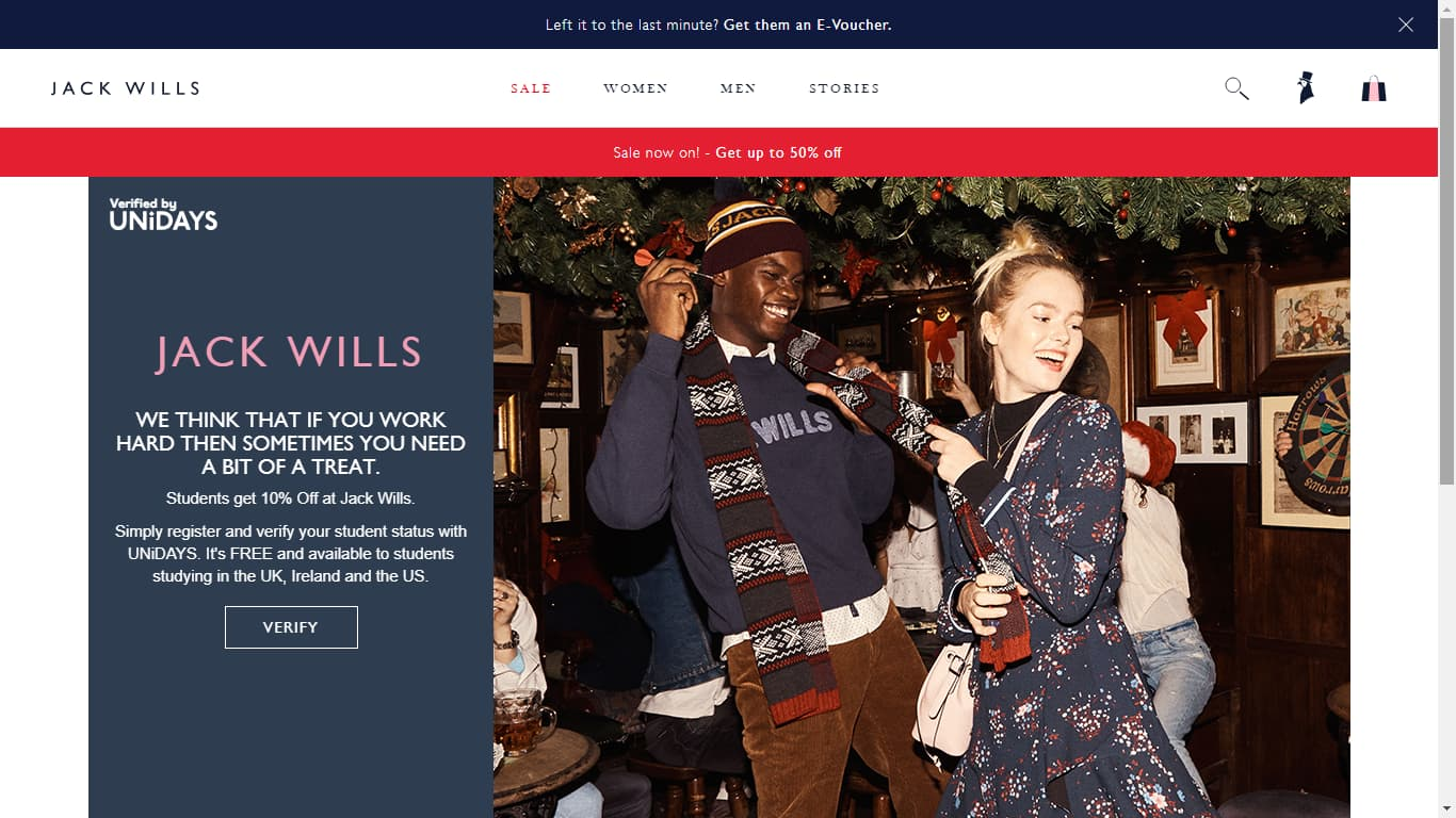 Unidays Jack Wills | 10% Promo Code +