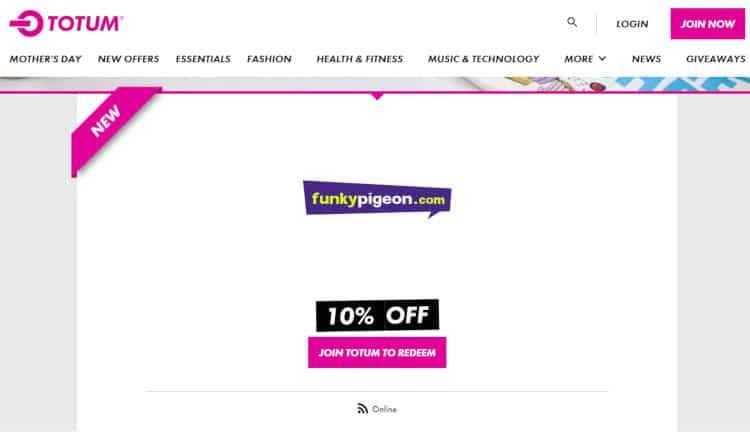 NUS Totum Funky Pigeon