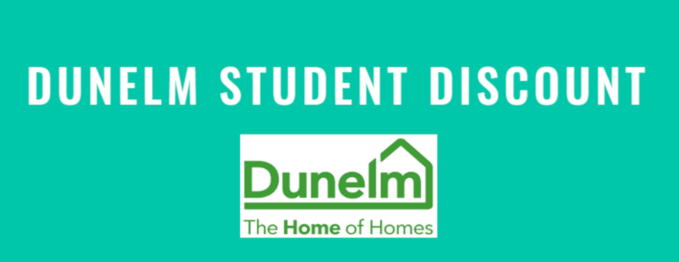 dunelm student discount