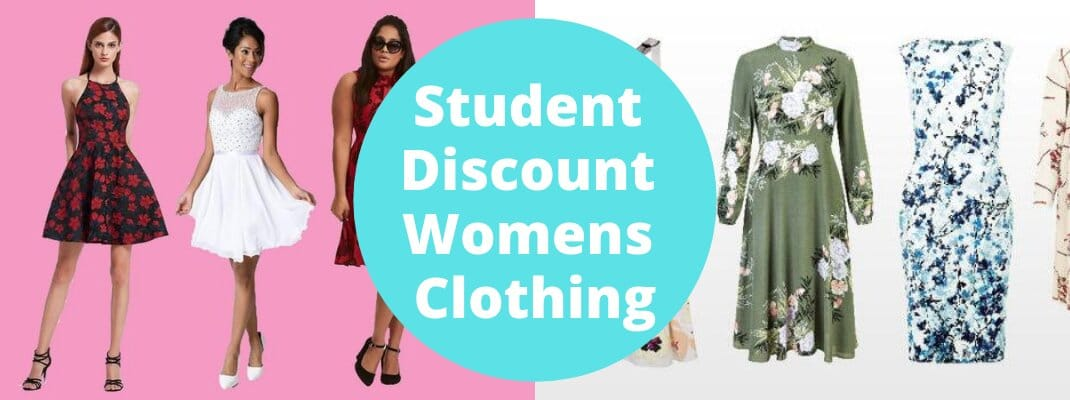 Student Discount Womens Clothing