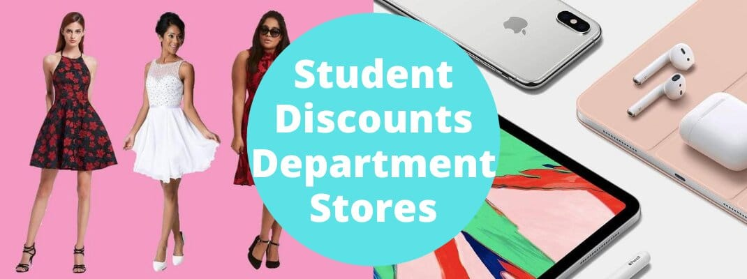 Student Discounts Department Stores