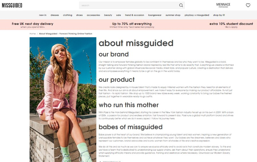 about missguided