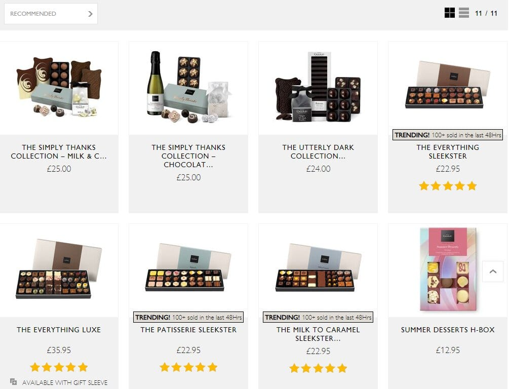 products hotel chocolat