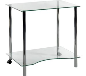 Glass Students Desk