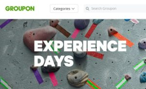 groupon experiences gifts for college students